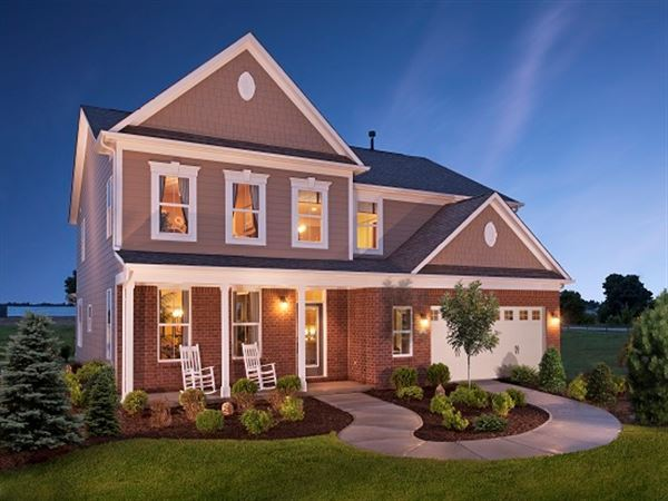 Jamestown Model CalAtlantic Homes Landsdale Frederick