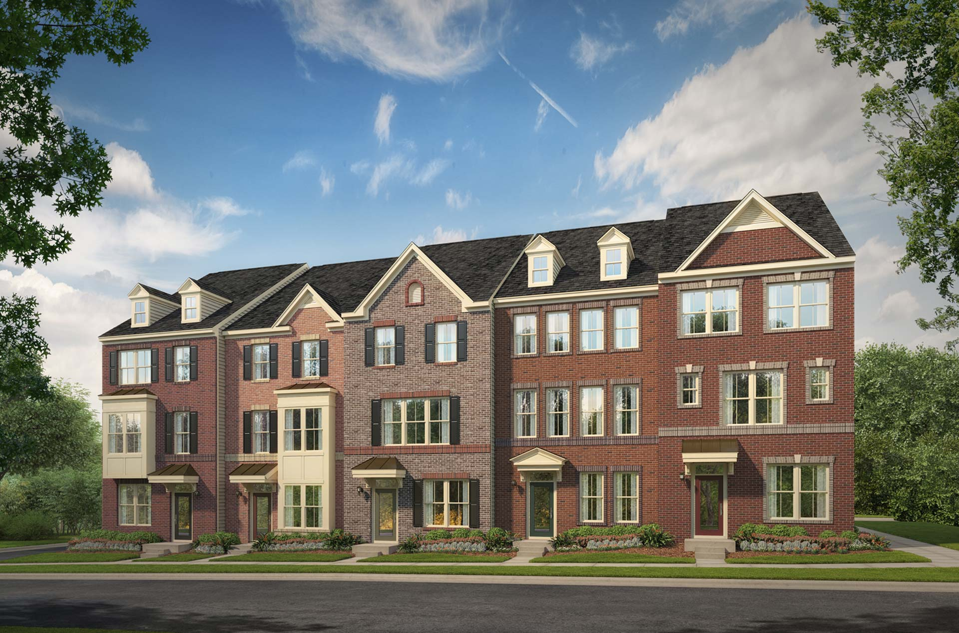 New Townhomes Frederick MD