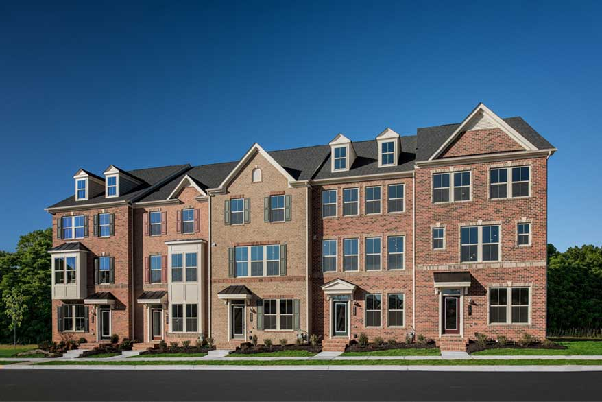 Townhome NVHomes Maryland