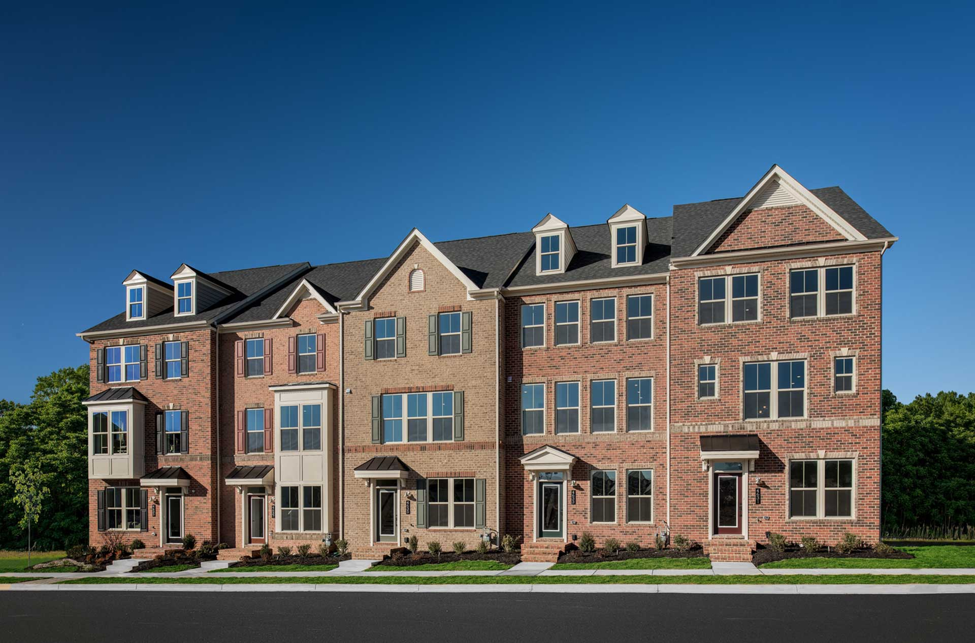 NVR Townhomes Homes Frederick MD