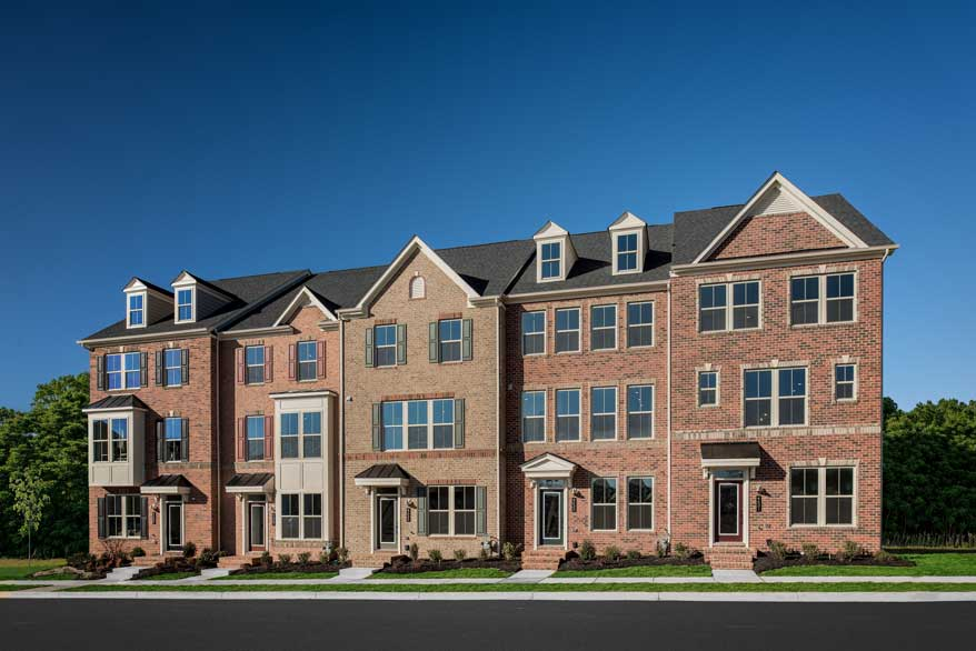 NVhomes Executive Townes in Landsdale Frederick